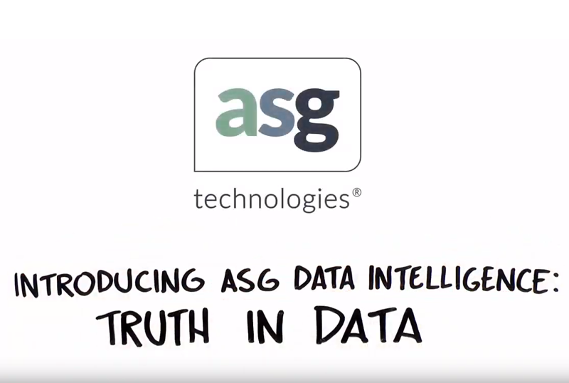Enterprise Data Intelligence with Data Lineage | ASG com