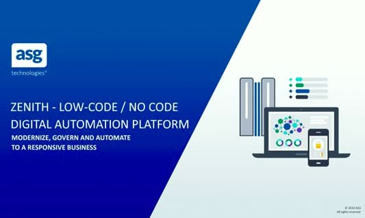 Low-Code/No-Code Platform – Accelerate Your Digital Journey