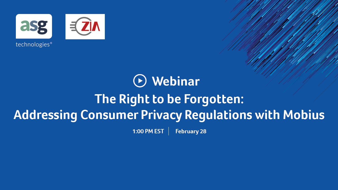 The Right to be Forgotten: New Approaches for Addressing Consumer P...