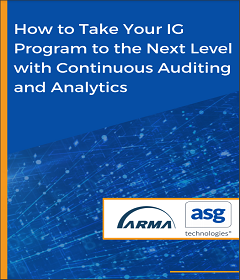 How to Take Your IG Program to the Next Level with Continuous Audit...
