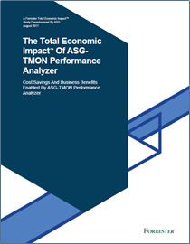 The Total Economic Impact Of ASG- TMON Performance Analyzer