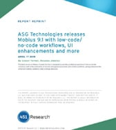 451 Research Highlights the Benefits of ASG Mobius 9.1
