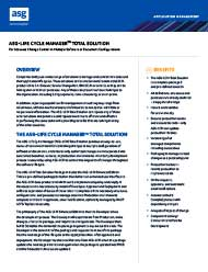 ASG-Life Cycle Manager Total Solution