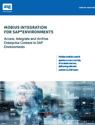 Mobius Integration for SAP® Environments