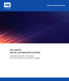 ASG-Zenith - Accelerate Delivery of Process Applications with Power...