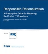 EMA: A Prescriptive Guide for Reducing the Cost of IT Operations
