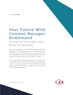 ASG & Zia: Your Future with Content Manager OnDemand