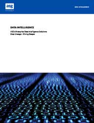 ASG's Enterprise Data Intelligence Solutions: Data Lineage – Diving...