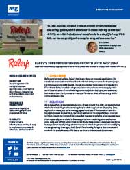 Raley's Supports Business Growth With ASG-Zena