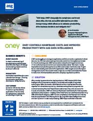 Oney controls mainframe costs and improves productivity