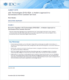 IDC Report: ASG EVOLVE20 - A Modern Approach to Governance-First Co...