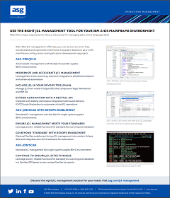 Use the Right JCL Management Tool for Your IBM z/OS Mainframe Envir...