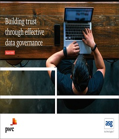 Building trust through effective data governance